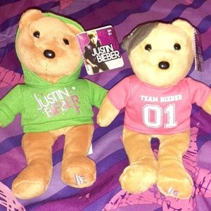 Justin Bieber Collectible Bears Bundle